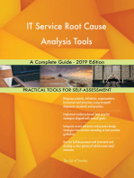 IT Service Root Cause Analysis Tools A Complete Guide - 2019 Edition
