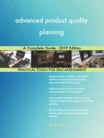 advanced product quality planning A Complete Guide - 2019 Edition
