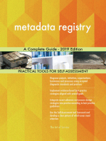 metadata registry A Complete Guide - 2019 Edition