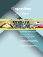 IT operations analytics A Complete Guide - 2019 Edition