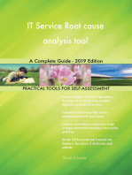 IT Service Root cause analysis tool A Complete Guide - 2019 Edition
