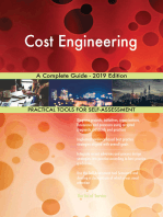 Cost Engineering A Complete Guide - 2019 Edition