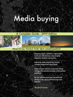 Media buying A Complete Guide - 2019 Edition