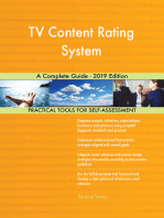 TV Content Rating System A Complete Guide - 2019 Edition