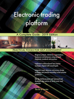 Electronic trading platform A Complete Guide - 2019 Edition