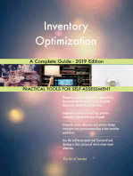 Inventory Optimization A Complete Guide - 2019 Edition