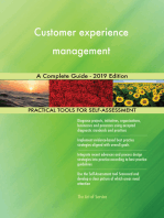 Customer experience management A Complete Guide - 2019 Edition