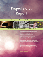 Project status Report A Complete Guide - 2019 Edition