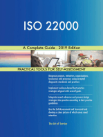 ISO 22000 A Complete Guide - 2019 Edition