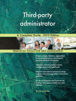 Third-party administrator A Complete Guide - 2019 Edition