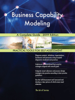 Business Capability Modeling A Complete Guide - 2019 Edition