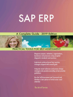 SAP ERP A Complete Guide - 2019 Edition