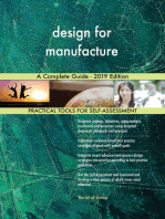 design for manufacture A Complete Guide - 2019 Edition