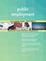 public employment A Complete Guide - 2019 Edition