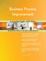 Business Process Improvement A Complete Guide - 2019 Edition