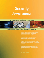 Security Awareness A Complete Guide - 2019 Edition