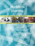 Workforce planning A Complete Guide - 2019 Edition