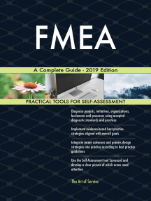 FMEA A Complete Guide - 2019 Edition