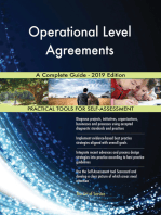 Operational Level Agreements A Complete Guide - 2019 Edition