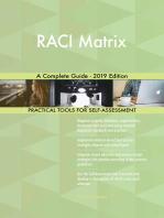 RACI Matrix A Complete Guide - 2019 Edition