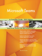 Microsoft Teams A Complete Guide - 2019 Edition