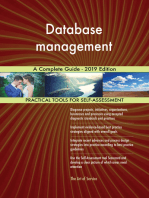 Database management A Complete Guide - 2019 Edition