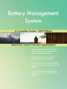 Battery Management System A Complete Guide - 2019 Edition