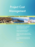Project Cost Management A Complete Guide - 2019 Edition