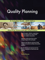 Quality Planning A Complete Guide - 2019 Edition