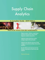 Supply Chain Analytics A Complete Guide - 2019 Edition