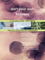 start your own business A Complete Guide - 2019 Edition