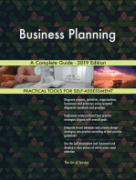 Business Planning A Complete Guide - 2019 Edition