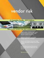vendor risk A Complete Guide - 2019 Edition