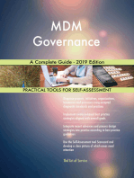 MDM Governance A Complete Guide - 2019 Edition