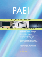 PAEI A Complete Guide - 2019 Edition