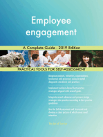 Employee engagement A Complete Guide - 2019 Edition