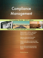 Compliance Management A Complete Guide - 2019 Edition