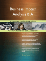 Business Impact Analysis BIA A Complete Guide - 2019 Edition
