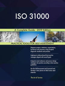 ISO 31000 A Complete Guide - 2019 Edition
