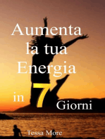 Aumenta la tua energia in 7 giorni