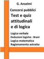 Test e quiz attitudinali e di logica