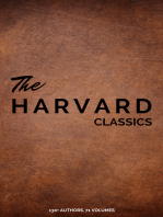 Harvard Classics (Dr. Eliot's Five Foot Shelf - 51 Original Volumes + 20 Bonus Volumes)