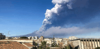 Sicily Is Shaken By Earthquake As Mount Etna Erupts Once Again