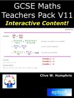 GCSE Maths Teachers Pack V11