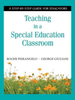 Teaching in a Special Education Classroom