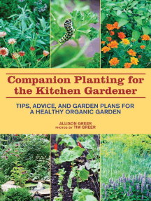 Companion Planting for the Kitchen Gardener: Tips, Advice, and Garden Plans for a Healthy Organic Garden