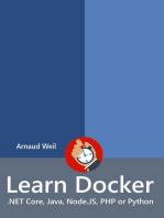 Learn Docker - .NET Core, Java, Node.JS, PHP or Python