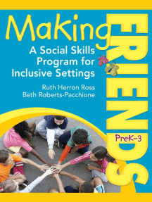 Making Friends PreK-3: A Social Skills Program for Inclusive Settings