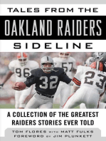 Tales from the Oakland Raiders Sideline