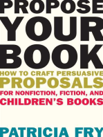 Propose Your Book